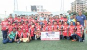 Bashundhara Kings honoured  with BCL trophy