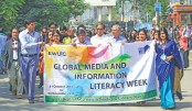 Global Media and Information Literacy Week celebrated
