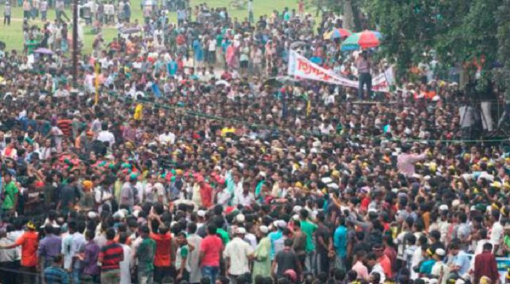 Khaleda thanks those joined BNP rally