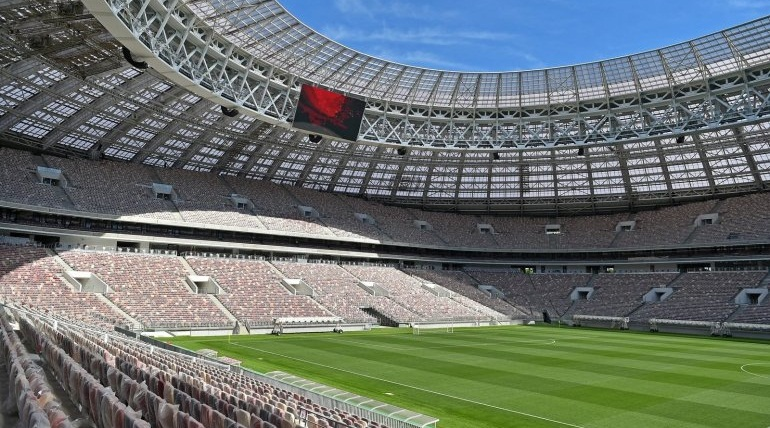 Russia vows to improve Luzhniki stadium