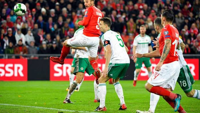 Rodriguez key at both ends as Switzerland reaches World Cup