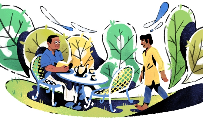 Google Doodle celebrates Humayun Ahmed's 70th birthday