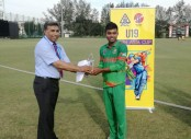 Bangladesh U-19 dump Malaysia by 262 runs in Youth Asia Cup