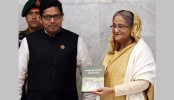 PM launches book on Bangabandhu's 7 March Speech