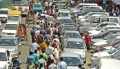 Illegal parking makes city traffic chaotic