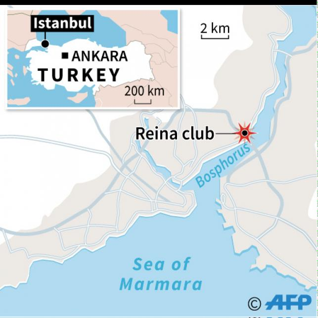 Manhunt after Istanbul nightclub attack