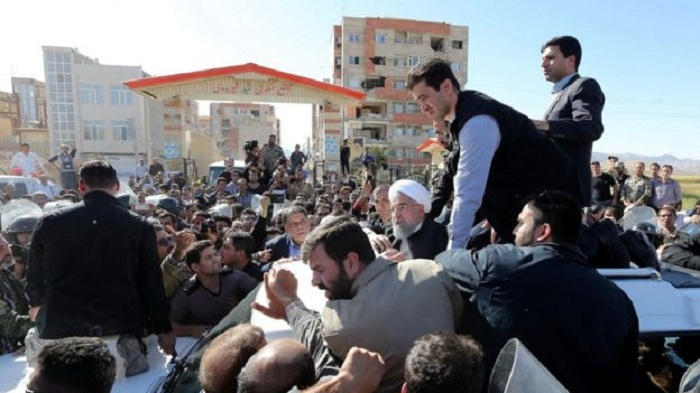 Rouhani vows action over collapsed buildings