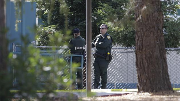 Gunman targets people at random in California town, kills 4