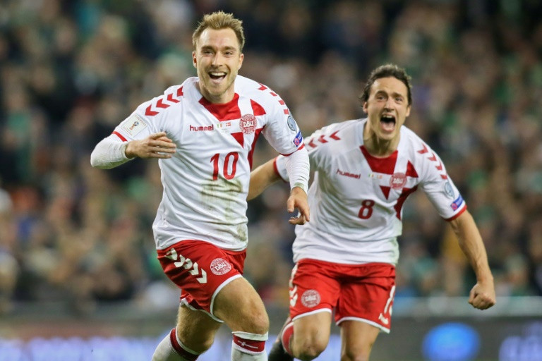 Sublime Eriksen propels Denmark to World Cup
