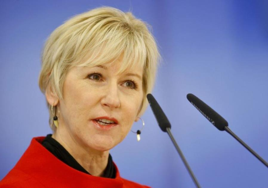 Swedish foreign minister to visit Rohingya camps Sunday