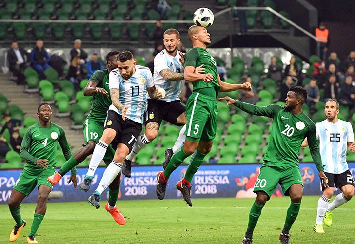 Iwobi inspires Nigeria fightback to stun Argentina
