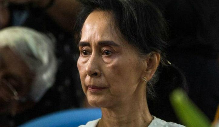 Suu Kyi meets Tillerson, UN chief on Rohingya crisis