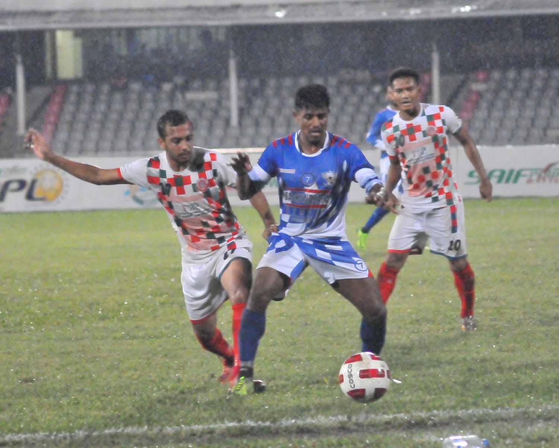 BPL Football: Sheikh Russel beat Muktijoddha 1-0