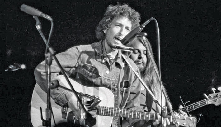 Dylan's Concert for Bangladesh guitar sells  for $400,000  at auction