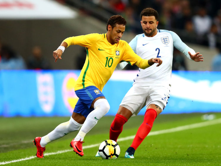 England hold Brazil but Neymar's rare gifts offer Southgate a reality check