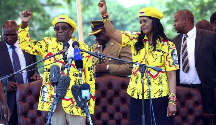 Mugabe latest leader over years taken into custody