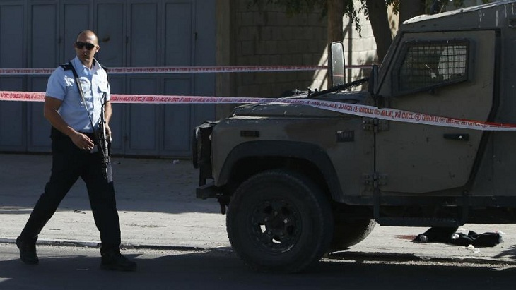 Army shot a Palestinian who allegedly rams car into Israeli civilians