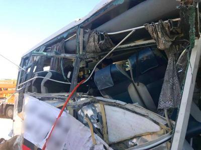 Bus-car collision kills seven in India