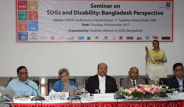 Disability Alliance on SDGs comes into being