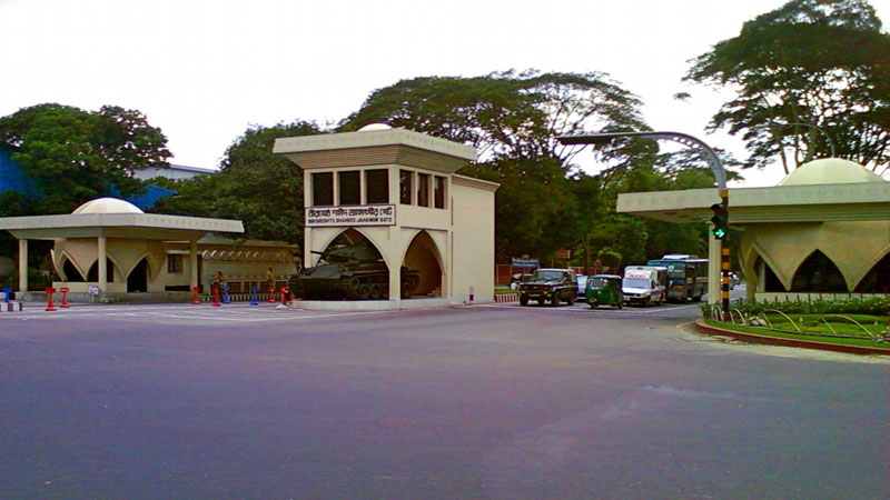 Traffic restrictions at Dhaka  Cantonment on November 21