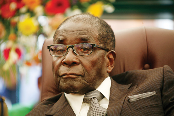 Zimbabwe military says talks in progress for Mugabe's exit