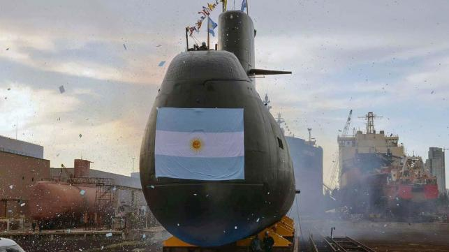 Argentine navy hunts for missing submarine