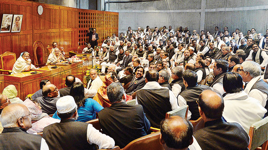 Awami League Parliamentary Party to sit November 22