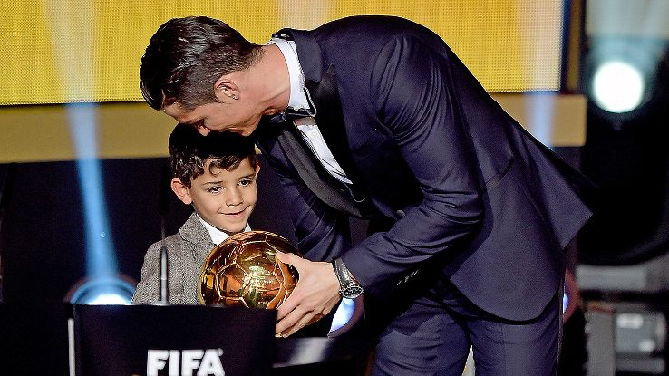 Ronaldo wants 7 children and as many Ballon d'Or awards