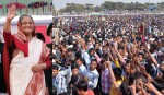 Sheikh Hasina reaches Suhrawady Udyan