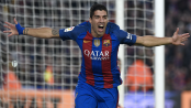 Suarez doubles stretches Barca's La Liga lead