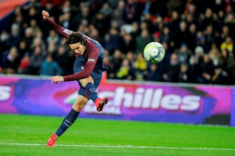 Cavani scores twice as league leader PSG routs Nantes 4-1