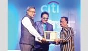 Citi honours Ferdous Wahid