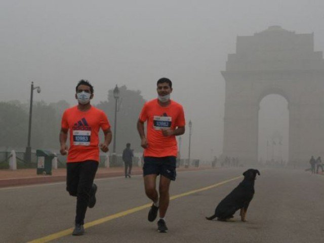 Delhi half marathon goes ahead despite smog, health warnings
