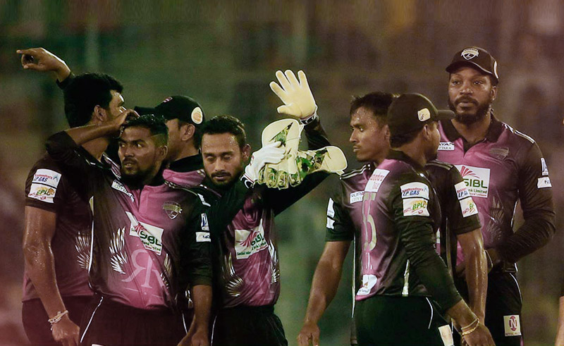 Rangpur Riders back in winning streak