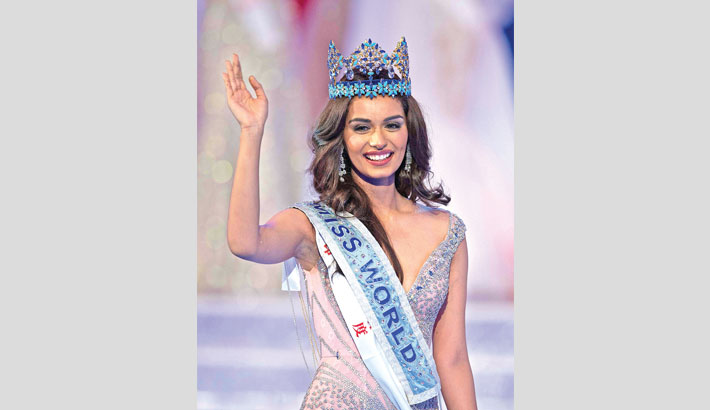Manushi Chillar crowned Miss World 2017