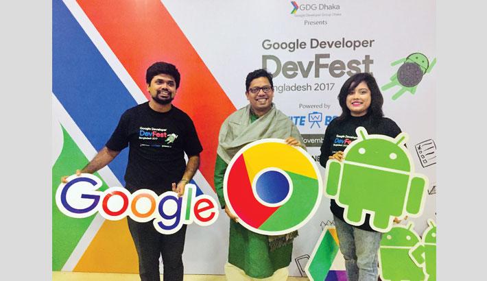 Google DevFest held in Dhaka
