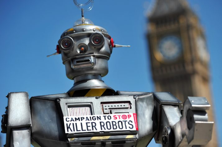 UN panel agrees to move ahead with debate on 'killer robots'
