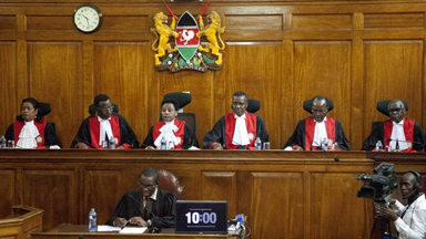 Kenya's Supreme Court upholds Kenyatta election win