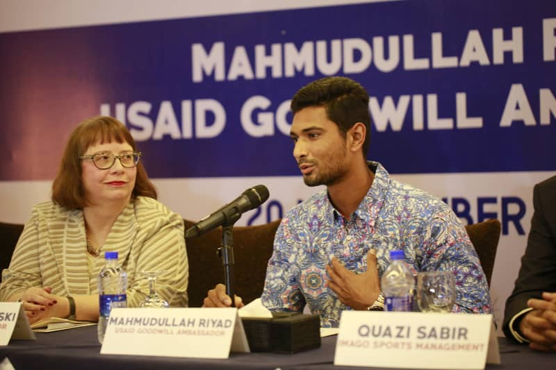 Mahmudullah made USAID's Goodwill Ambassador for youth & development in Bangladesh