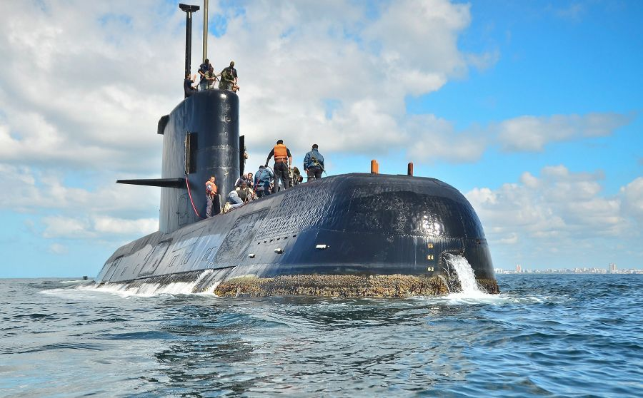 Argentina unsure if signals came from missing submarine