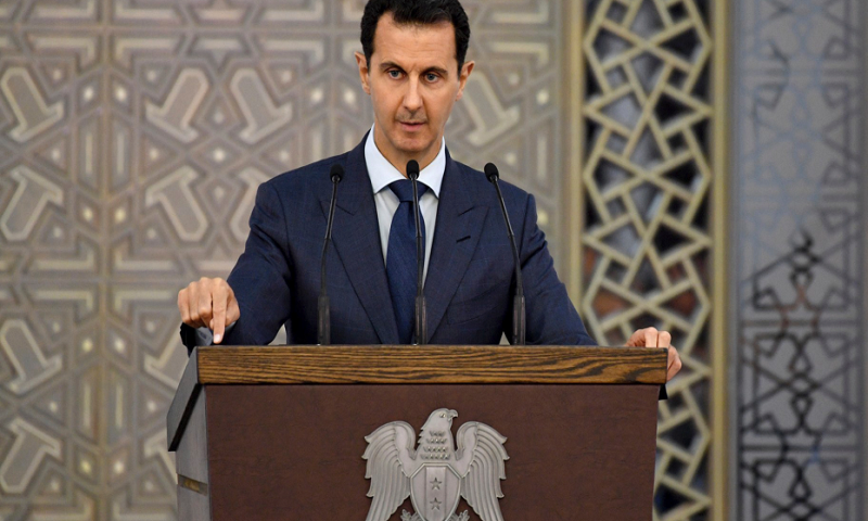 Assad travels to Russia, meets with Putin