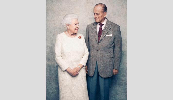 Queen's 70th wedding anniv
