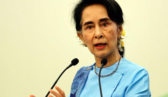 Suu Kyi keeps mum