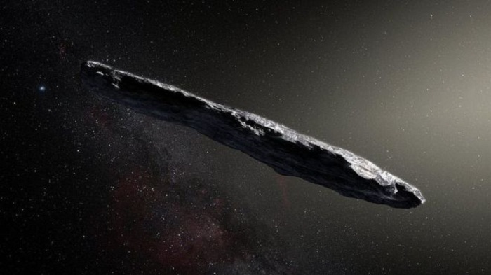 Bizarre shape of interstellar asteroid