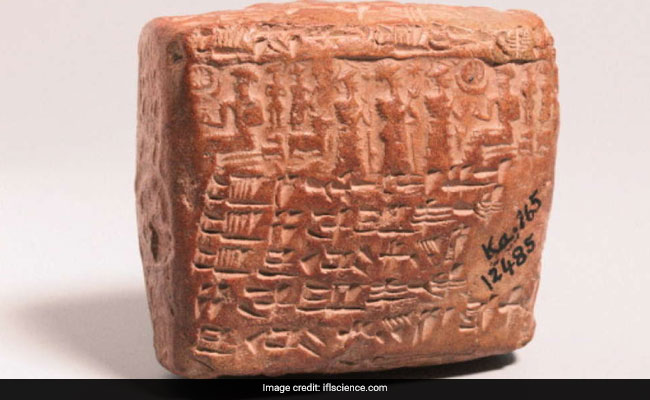 4,000 year-old marriage contract mentions divorce, infertility