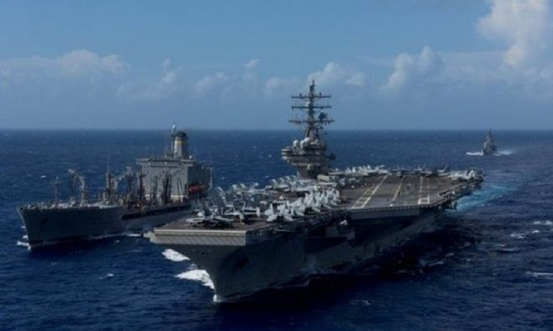 US Navy aircraft crashes off Japan