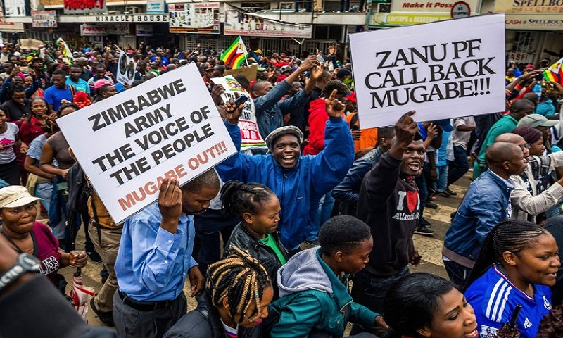 Mugabe resigns: Zimbabwe celebrates end of an era