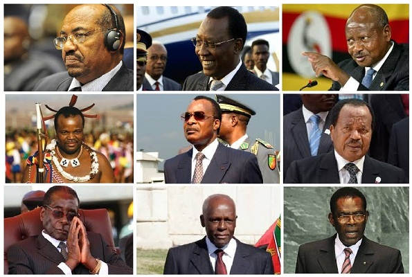 Africa's longest-serving leaders