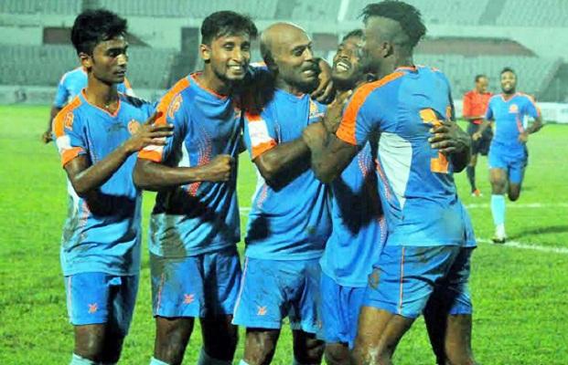 Dhaka Abahani beat Dhaka Mohammedan 2-0