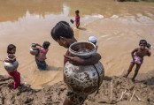 UNICEF warns of contaminated drinking water in Rohingya camps